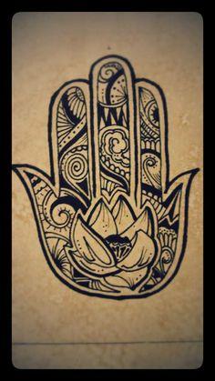 Mano de Fatima, por Juan Arina