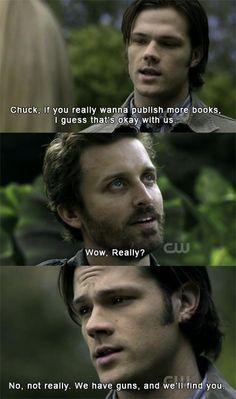 Haha one of my favorite parts! {supernatural}