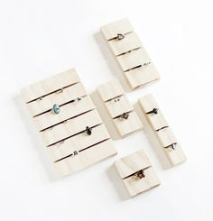 DIY rings can be extremely tricky to figure out how to organize. This Easy Wooden DIY Organizer will take all those troubles of organizing rings and toss them away! This super cute wooden jewelry organizer will make it so easy for you to organize! Ring Storage, Jewellery Storage, Jewelry Organization, Diy Jewelry, Jewelry Making, Jewelry Findings, Jewelry Stand, Jewlery, Fashion Jewelry