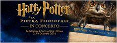 Il cine-concerto tratto dalla celebre saga di Harry Potter approda in prima nazionale all'Auditorium Conciliazione con l'Orchestra Italiana del Cinema. 2-3-4 dicembre Biglietti su TicketOne http://www.elisabettacastiglioni.it/en/eventi/273-harry-potter-concerto-roma.html