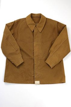 French vintage railway work jacket/France 1960's/duck