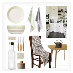 """""""French Country Kitchen"""" by lovethesign-eu ❤ liked on Polyvore featuring interior, interiors, interior design, home, home decor, interior decorating, HAY, iittala, Menu and Mono"""