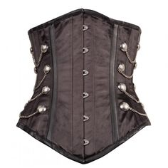 http://www.corsets-uk.com/long-black-satin-and-faux-leather-steel-boned-underbust.html