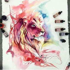 Leon Colorido Wallpaper Hd Wallpaper Hd Fondos De Pantalla Hd