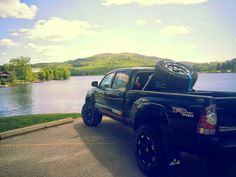 2013 Toyota Tacoma TRD Mickey Thompson 285/70/17 A/T American Racing rims TRD Cat back Air Raid Intake N-Fab spare tire carrier Factory level kit