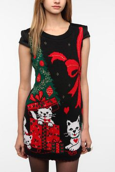 Urban Renewal Holiday Sweater Dress