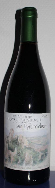 Adrian & Diego Mathier Pinot Noir Les Pyramides Réserve de Salquenen 2007 AOCV