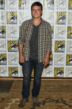Who Knew Comic-Con Was So Stylish? See the Super Chic All-Star Attendees: Josh Hutcherson