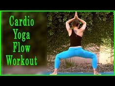 Yoga Flow Cardio Yoga Workout with Michelle Goldstein #yogaworkout #yoga #yogaflow