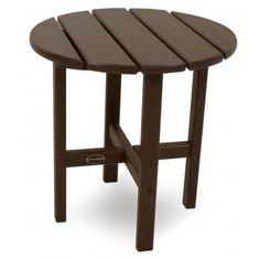 """POLYWOOD™ Round 18"""" Side Table"""