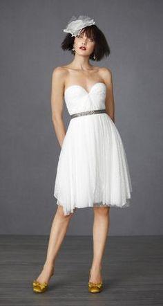Little white dress via REVEL