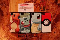 set 4 pokemon  charmander squirtle bulbasaur   Apple by Case15com, $45.00