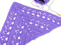 CrochetKim Free Crochet Pattern   Lunar Crossings Shawl @crochetkim