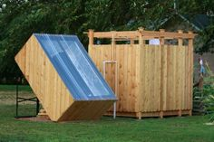 The Homestead Survival | Solar Outdoor Shower | Off The Grid -