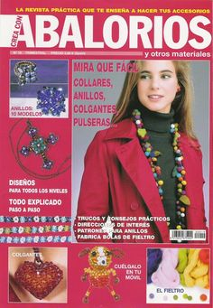 Crea con Abalorios nº 19 - laa laa - Picasa Web Albums...FREE BOOK AND BEADING PATTERNS!