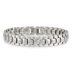 Stainless Steel Watch Band Men's Link Bracelet