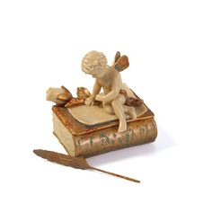 Design Toscano The Love Letter Box Figurine