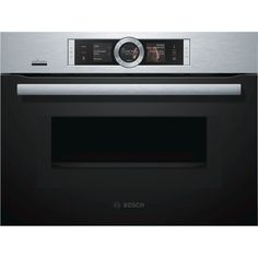 Bosch CNG6764S6B HOME CONNECT, Pyrolytic, Compact Microwave Combination Oven