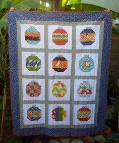 ornament quilt -- no pattern