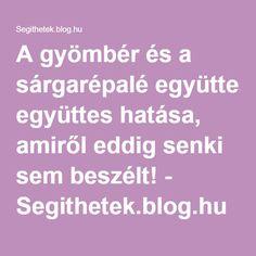 A gyömbér és a sárgarépalé együttes hatása, amiről eddig senki sem beszélt! - Segithetek.blog.hu