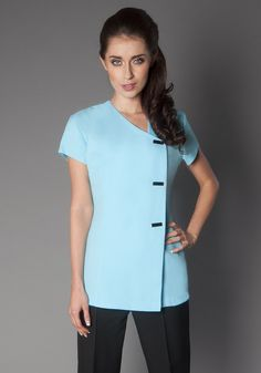 Grey products and beauty on pinterest for Spa uniform grey