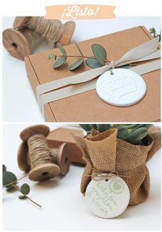 DIY   Personalizar nuestros regalos con sellos   Aprender manualidades es facilisimo.com