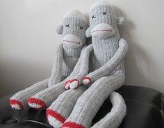 sad sock monkeys