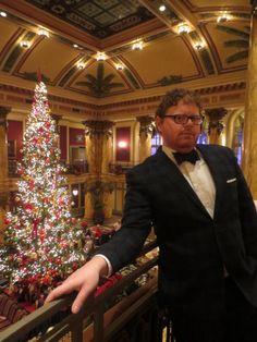 Christmas/Holiday Festive menswear  Black Watch Tartan Suit