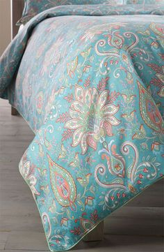 Next Creations 'Kinley' Duvet Cover in turquoise