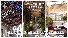 Patios techados ¡Una increible opcion para tu casa¡ | Decoracion de interiores Fachadas para casas como Organizar la casa