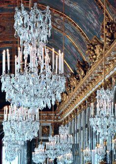 """thestandrewknot: """" Galerie des Glaces, Château de Versailles (by tewhiufoto). """""""