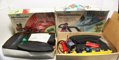 Strombecker Slot Race Racing Car Track Lot Contrller Power Pack Parts  #Strombecker