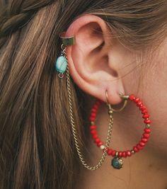ear cuff DIY: in my wildest dreams