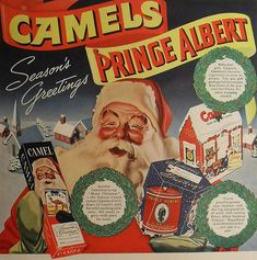 vintagesusie & wings: Vintage Christmas Ads Make Me Smile!