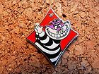 Cheshire Cat Diamond Disney Pin - 2013 Hidden Mickey - Alice Card Suits #EasyNip