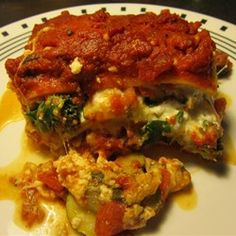 Easy Roasted Vegetable Lasagna Allrecipes.com