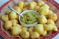 Aunty Jang's Pholourie - Enjoy as a snack or serve as an appetizer at parties and other gatherings with mango chutney(click for recipe).....