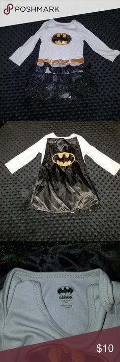 Batman onsie with attached tutu 13-18 months Batman onsie with attached tutu 13-18 months One Pieces