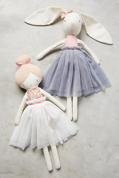Ballerina Plush Toy - anthropologie.com