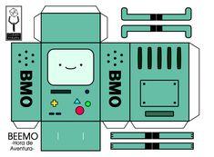 Diy Paper, Paper Art, Paper Crafts, Adventure Time Parties, Instruções Origami, Oragami, Paper Doll Template, Anime Crafts, Ideias Diy