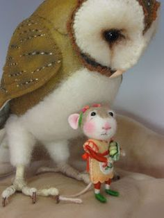 Needle Felting / Needle Felted Creations By Barby Anderson: October 2010