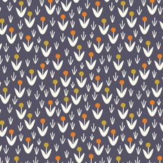 Morning Song - Dotty Blooms Navy by Elizabeth Olwen from Cloud 9 Fabrics Fabric Patterns, Print Patterns, Floral Patterns, Morning Songs, Shops, Cloud 9, Modern Fabric, Surface Pattern Design, Vintage Prints