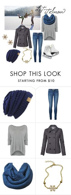 """Ice Skating Date"" by bethanunny ❤ liked on Polyvore featuring Vero Moda, Calvin Klein, Fat Face, iceskating, ashley, winterwonderland and LetItSnow"