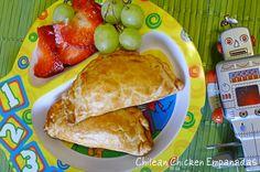 Empanadas con pollo
