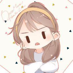 Illustration Sketches, Character Illustration, Anime Cherry Blossom, Cherry Blossoms, Manga Anime, Anime Art, Anime Neko, Cute Bakery, Wallpaper Wa