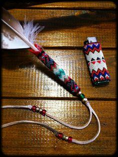 Beaded Pimary Feather