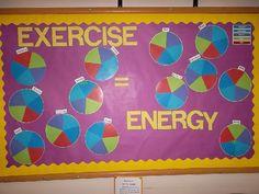 Exercise = Energy bulletin board