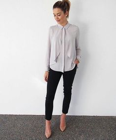 plain blouses with unique features