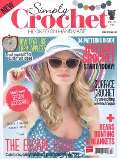 Learn How To Crochet Magazine : Crochet Books & Magazines on Pinterest Japanese Crochet, Crochet ...