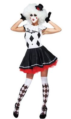 Harlequin Clown Adult Costume                                                                                                                                                                                 More